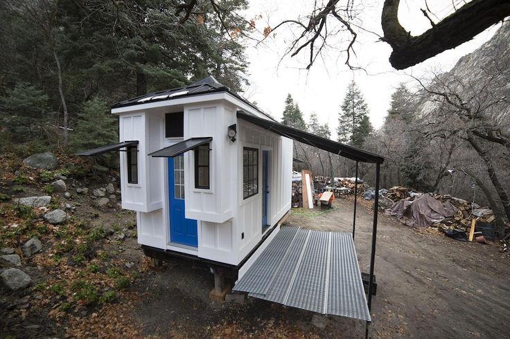 Sometimes we come across a tiny house design that simply takes our breath away with its unique detail. This is one of them.