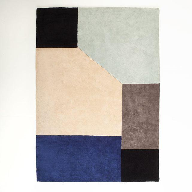 Tapis,Dario, coton tufté  http://www.homelisty.com/reduction-salon-redoute-interieurs/