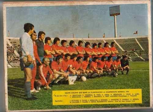 Selección de Chile, 1973