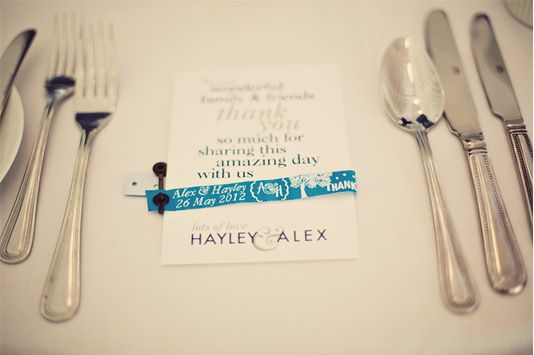 Festival Wedding Wristbands from ID
