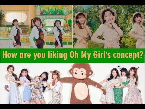 Oh My Girl Comeback With the Release of 'Banana Allergy Monkey', Fans Fe...