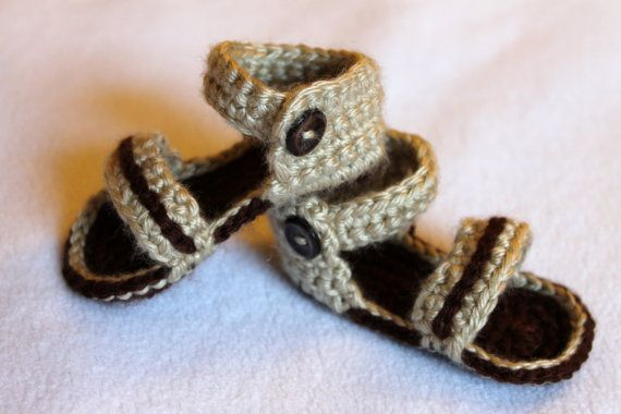 >> Click to Buy << Crochet Baby Sandals, Infant Sandals, Crochet Baby Shoes, Baby Shower Gift, Baby Boy Sandals #Affiliate