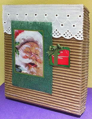 sbartist : painting in the dark: Easy Festive Recycled Holiday Packaging decorated using Unscripted Sketches #155 by Susan M. Brown: Packaging Decorated, Festive Recycled, Recycled Holiday, Holiday Packaging, Easy Festive, Painting