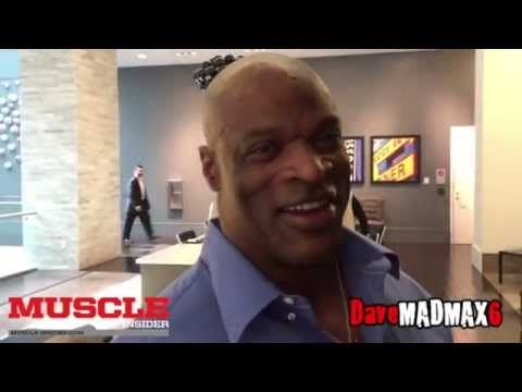Interview with 8x Mr Olympia Ronnie Coleman