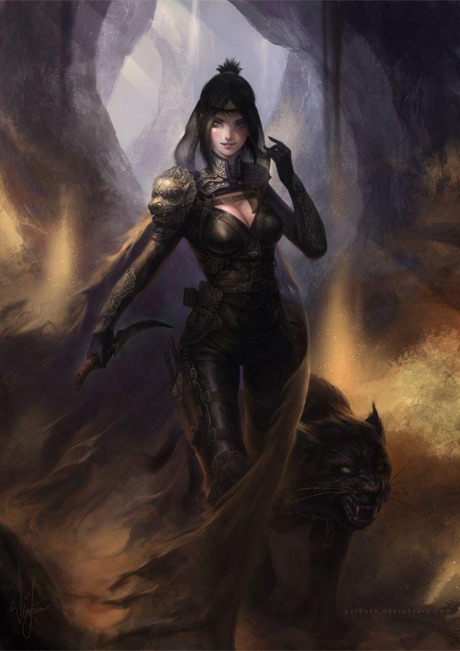 Assassin Female Woman Thief Ninja Fantasy Art Concept Art Characters Art Fantasy