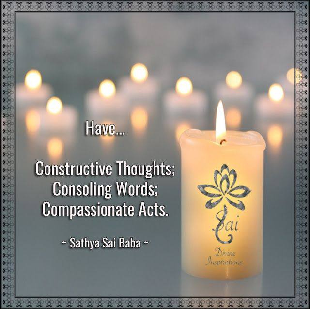 SAI DIVINE INSPIRATIONS: GRAPHICS-DIVINE THOUGHTS