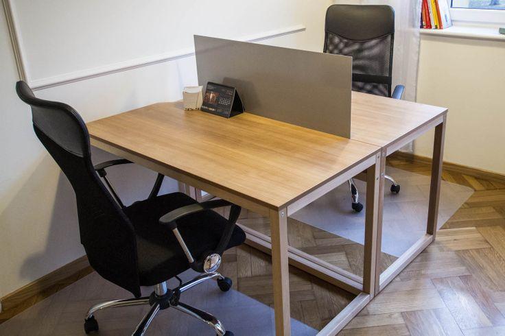 Biurka w sali CoWorking #coworking http://www.mymeetingrooms.pl/73_cowalski-aleja-inspiracji?ref=search_results