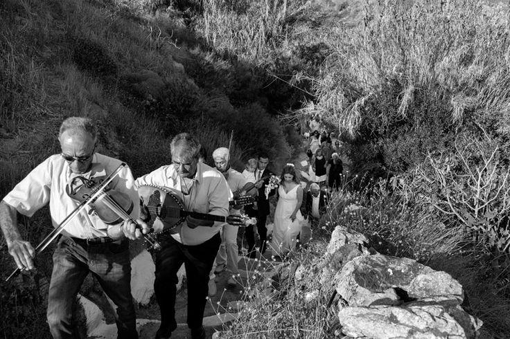 Traditional wedding |  Serifos Island Greece | Documentary |  Black and white