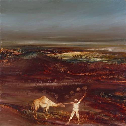 Camel and Figure - Sidney Nolan