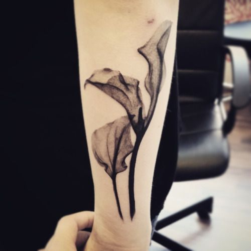 calla lily tattoos - Google Search