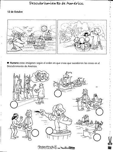 Actividades Escolares: ACTIVIDADES PARA EL 12 DE OCTUBRE