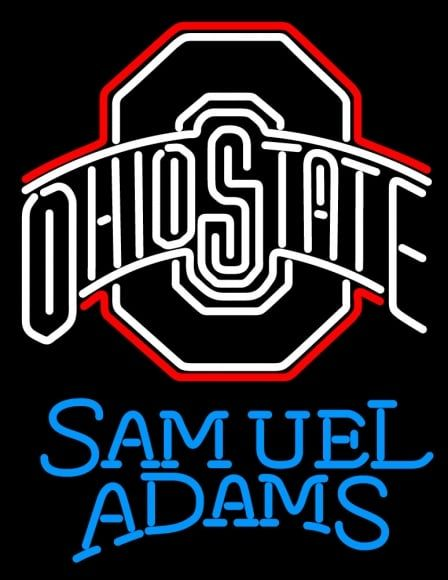 Customized design click here, we can make your logo into neon signs.Ohio state Samuel Adams neon sign Free shipping with 1year warranty.Visit our website neonsignsus.