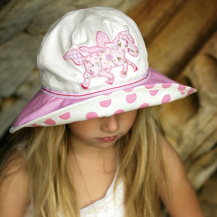 Unicorn girls hat with fun applique in unicorn motif.  Adjustable head size. Sizes: 52cm or 55cm to fit 1-7 years approximately.  RRP: $34.00  Shop: https://rigon-headwear.myshopify.com/collections/kids/products/b70-unicorn-hat