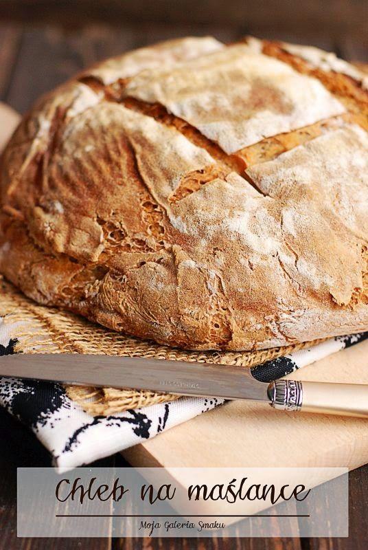 Chleb pszenno-żytni na maślance