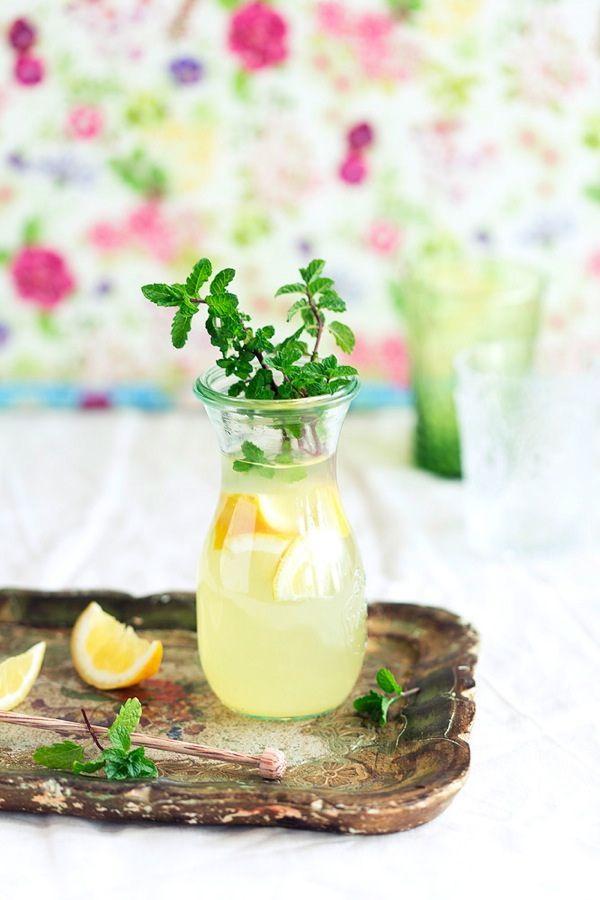 lemon - mint water