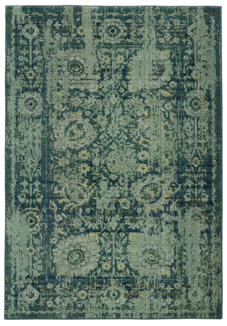 Pantone Universe Expressions Green Oriental Rug | AllModern