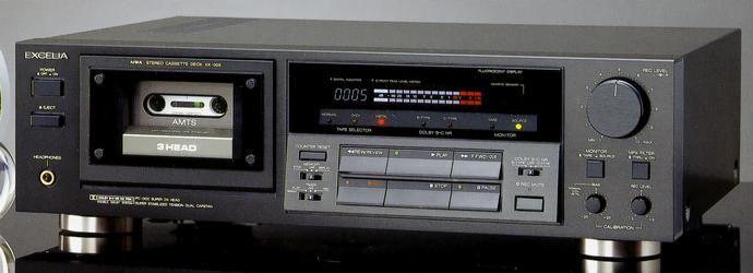 AIWA/EXCELIA XK-005 1988 | VINTAGE CASSETTE DECK ...