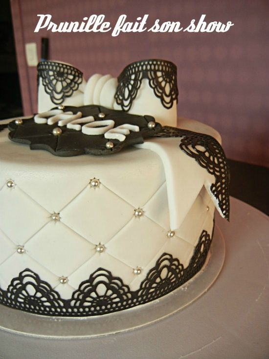 17 best ideas about 30 ans mariage on pinterest for Decoration gateau nouvel an