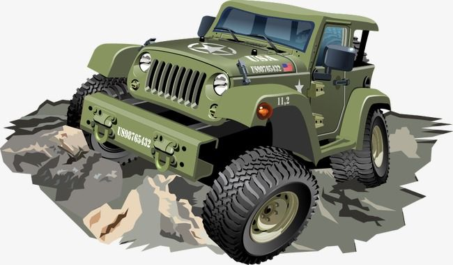 Vector Jeep Jeep Cartoon Jeep Vector Cartoon Jeep Png And