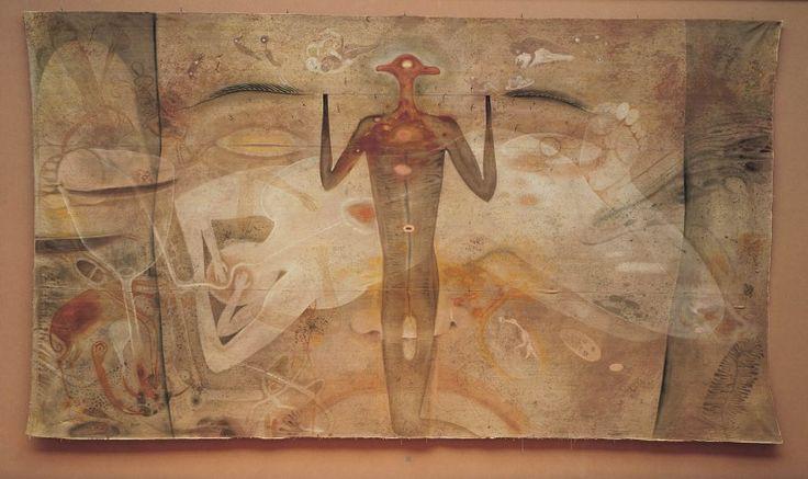 Matka Země ; malba na plátně ; František Skála