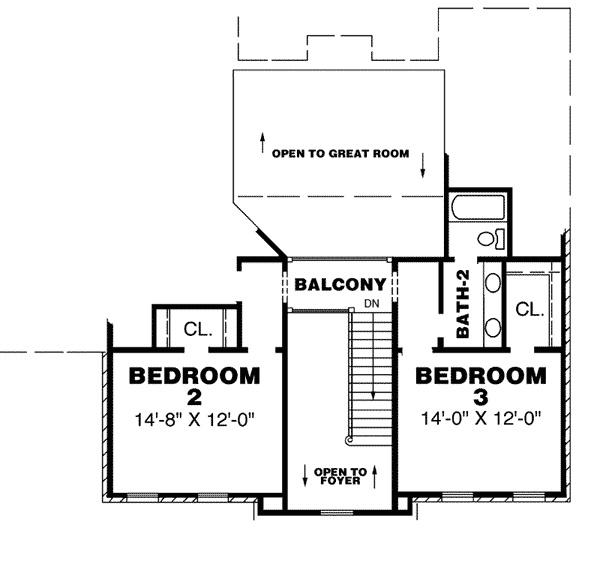 Rockdale 2nd floor | House Plans for the Delta | Pinterest