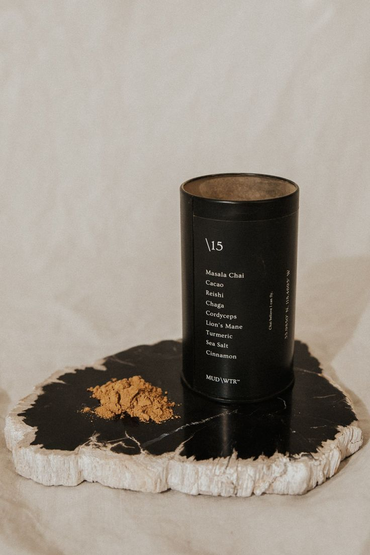 Mud\\Wtr is an amalgam of organic, earth-grown ingredients lauded by cultures old and young around the world for their health and performance benefits. Packed with adaptogenic mushroom compounds, each ingredient was included in this blend for a specific purpose to complement a life that demands one's best. ✦ 15 Servings ✦ Ingredients - Masala Chai, Cacao, Reishi, Cinnamon, Cordyceps, Turmeric, Chaga, Sea Salt, Lion's Mane Lion Mane, Masala Chai, Sea Salt, Healthy Drinks, Turmeric, Breakfast Ideas, Mud, Stuffed Mushrooms, Christmas Gifts