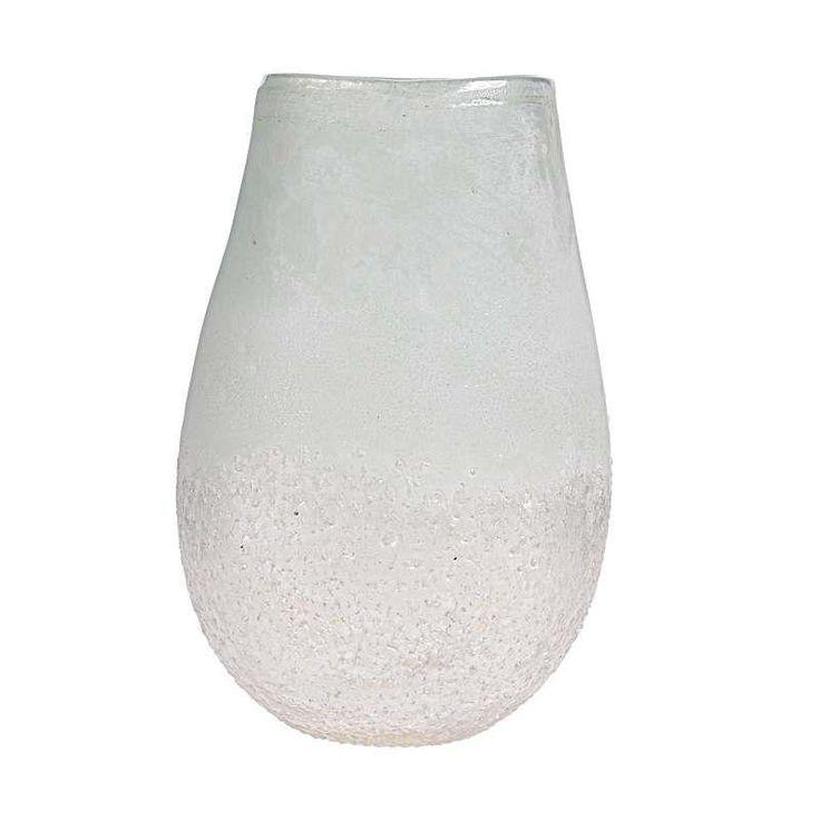 Βάζο γυάλινο Πράσινο-Λευκό (large)  Τιμή: €28,00 http://www.lovedeco.gr/p.Vazo-gyalino-Prasino-Leyko-large.869255.html