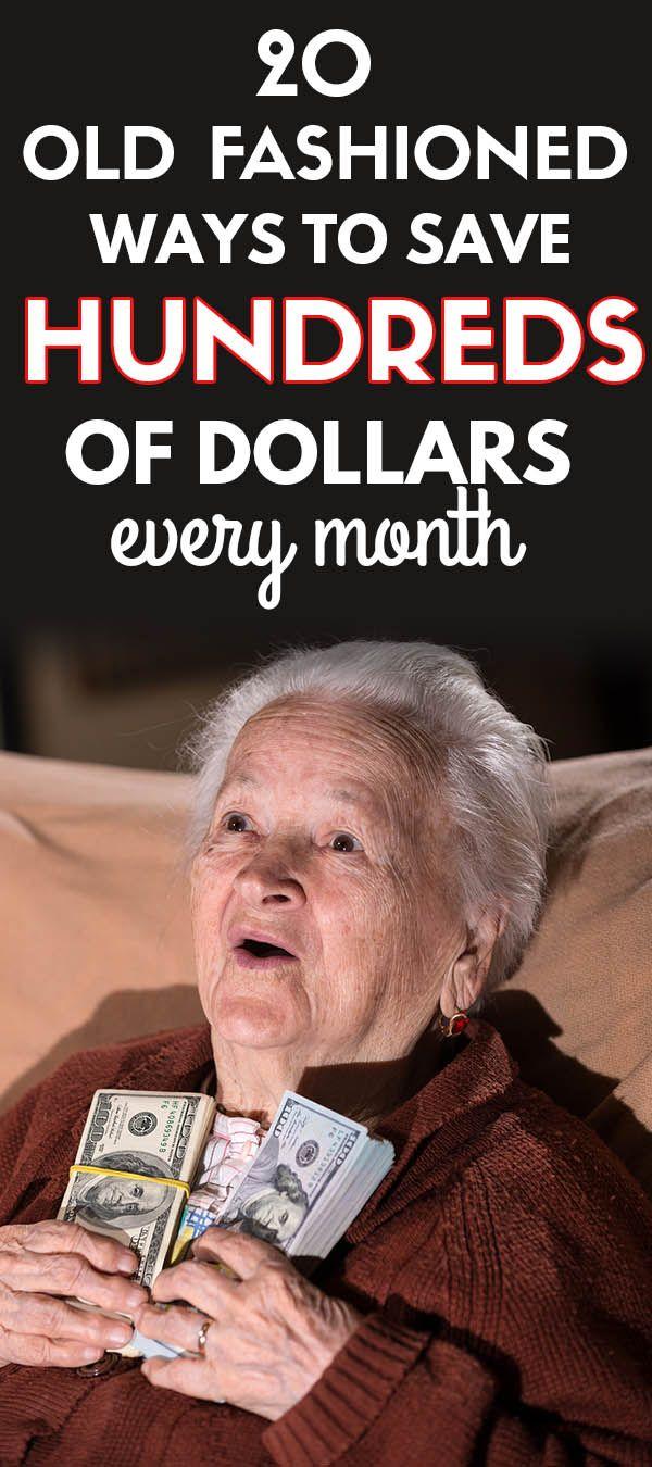 20 altmodische Möglichkeiten, um Geld zu sparen, die Ihnen helfen, eine Tonne Geld zu sparen