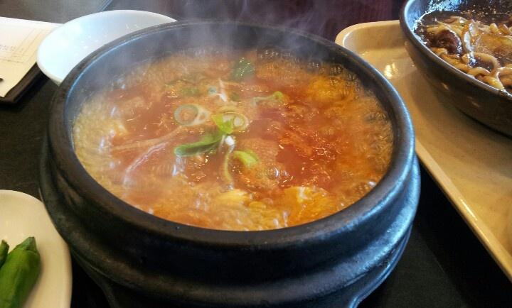 잠실 오모리찌개 chansil omori kimuchi-chige
