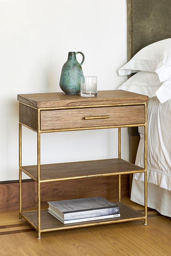 Cottars Side Table Wood Bedroom Decor Side Tables Bedroom Gold Bedroom Decor