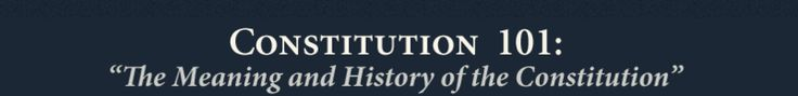 Free full Constitution 101 course.  Conservative. I'm getting great feedback from this one. ~ Lori