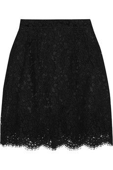 Dolce & Gabbana Lace mini skirt | NET-A-PORTER