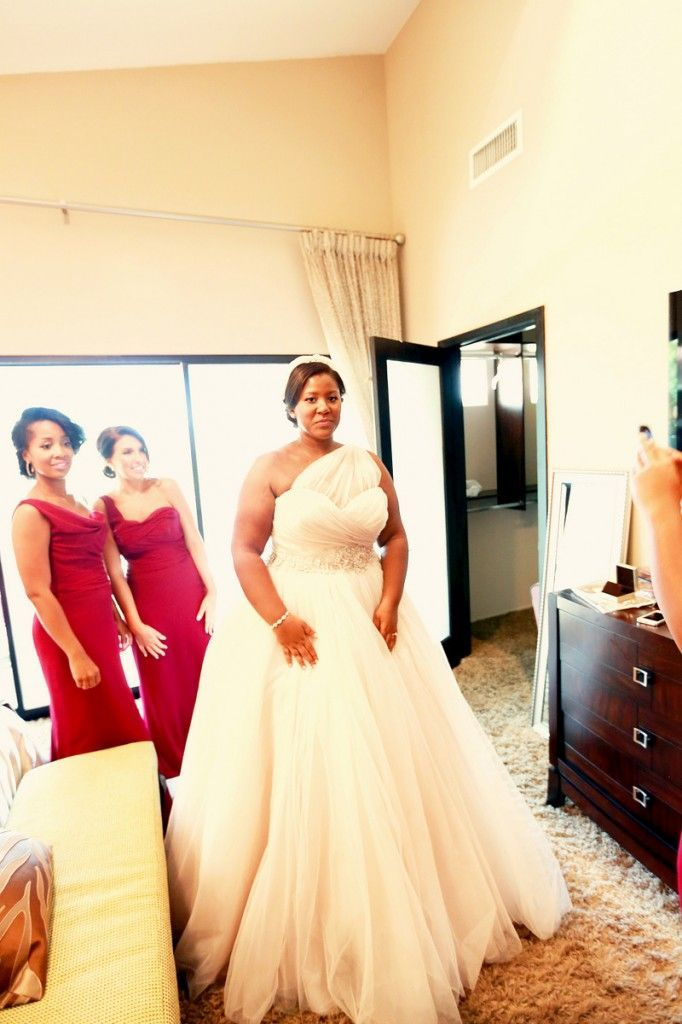 fall bridal party pictures%0A   A          Real Plus Size Wedding  Elegant Intimate