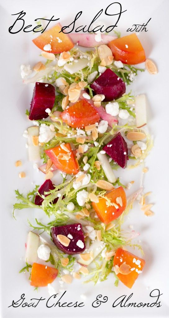 ... Eggs, Pomegranate, And Marcona Almond Vinaigrette Recipes — Dishmaps