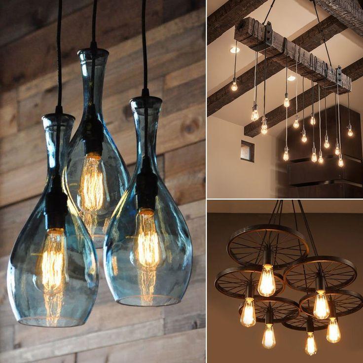Inspirational Antike Edison Lampe Vintage Gl hbirne St ck OakLeaf Retrofit Classic Ideal f r Nostalgie und Retro