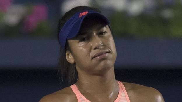 #tennis #news  Watson knocked out of Biel Bienne Open