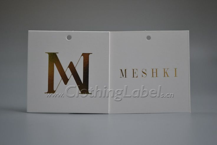 hang tag,coated paper,gold hot stamping,matte coating