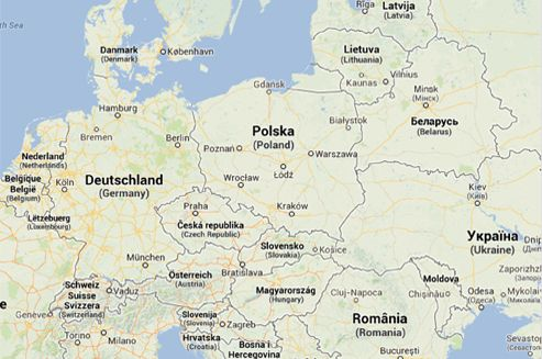 Someone who comes from Poland told me today that whenever he is asked where he comes from, he answers from Eastern Europe, because he is ashamed to tell the truth.