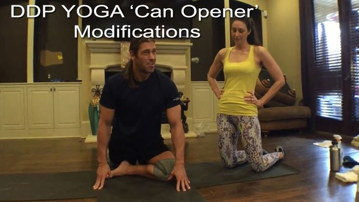 DDP YOGA Can Opener Modification