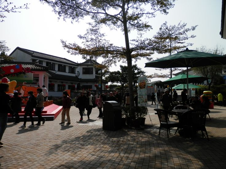 a small village (Ngong Ping) HK!