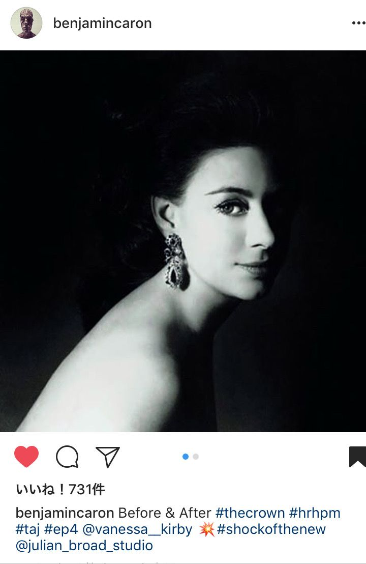 from ℹ︎nstagram THE CROWN Princess Margaret Photo By Anthony Armstrong Jones