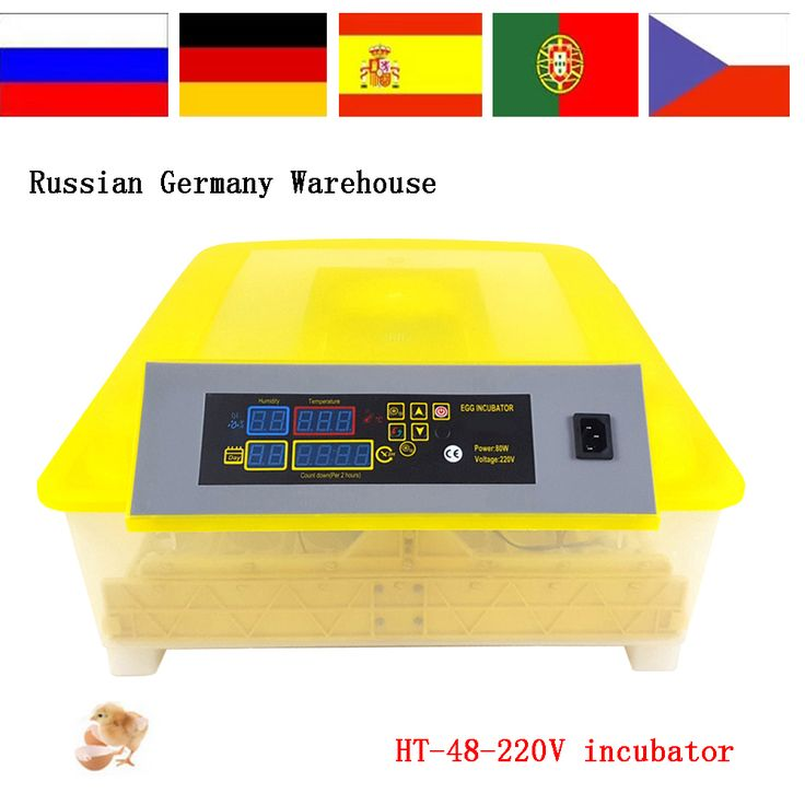 Family type small poultry farm incubator automatic HT-48 48 eggs