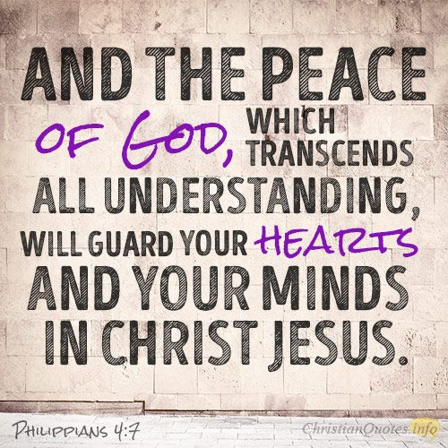 """4 Different Views of Peace ~ Making Peace With God ~ The peace of God, which transcends understanding, cannot come to a person until they receive the Holy Spirit and have put their trust in Christ. And """"since we have been justified by faith, we have peace with God through our Lord Jesus Christ"""" (Romans 5:1). We can't even access the Father unless we go through Christ (John 6:44). We have no peace with God without Christ [...]"""