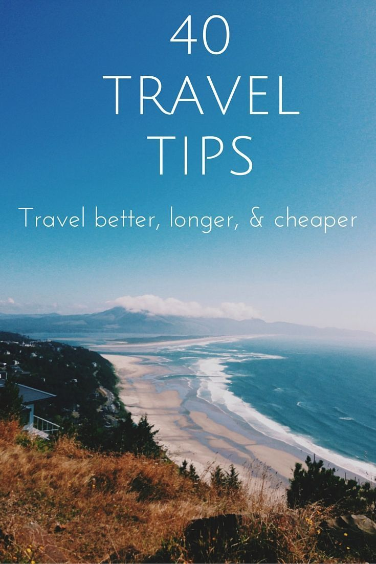 Based on years of experience traveling abroad and traveling with kids, 40 top travel tips   from This Is My Happiness