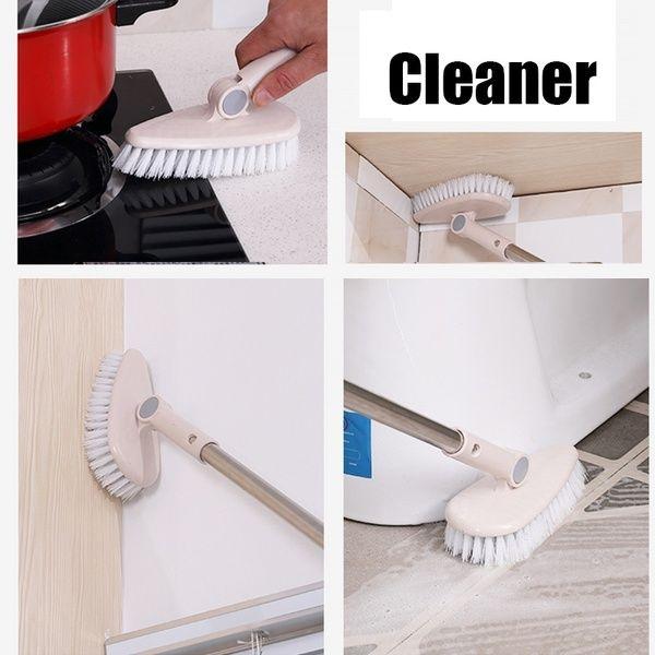 Scrub Brush Bathroom Wall Floor Scrub Brush Long Handle Bathtub Shower Tile Cleaning Tool Home In 2020 Cleaning Gadgets Cleaning Tools Cleaning Glass