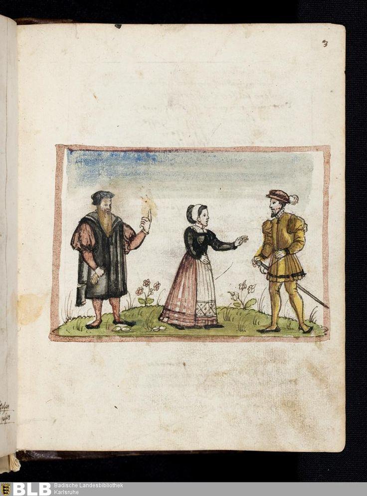 87 [3r] - Deutsche Sammelhandschrift - St. Georgen 86 - Seite - Handschriften - BLB Karlsruhe