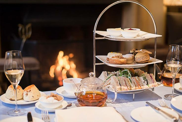 Celebrate at Belmond Le Manoir aux Quat'Saisons with a champagne #AfternoonTea for two.