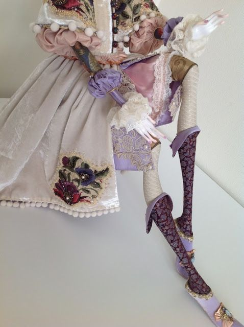 Кукольная мастерская ANNADAN: Новая кукла Лаура