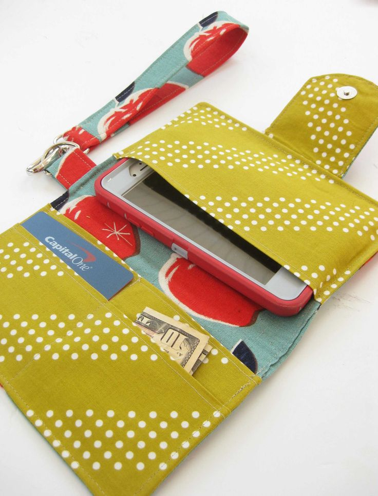 Perfect for the teen who isn't ready for a purse.  Because phone in pocket stinks.