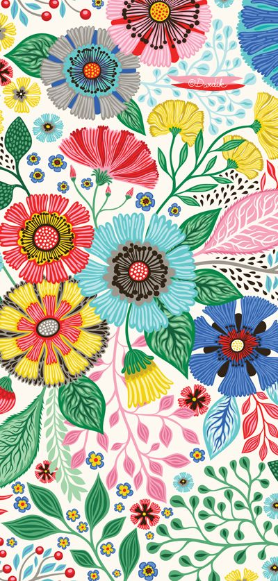 New floral pattern to show you today:). I've been waiting for the sunny days for along time...and now that they are finally here I...